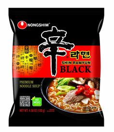 Nongshim Shin Ramyun Noodle Soup, Black, 4.58 Ounce (Pack of 24) >>> To view further, visit : Fresh Groceries