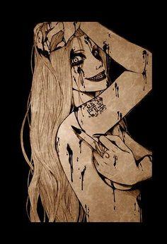 draw by Maria Esteban #comic #art #artistic #character #ink #design #photography #pic #draw #tattoo #drawing #illustration #decoration #manga