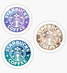 Starbucks Logo Tri Pack Stickers Sticker