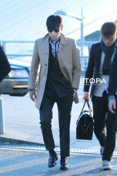 TOP ♡ #BIGBANG // Incheon Airport (131216)