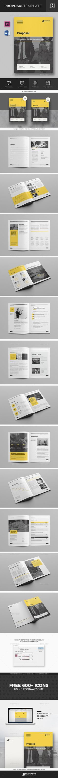 Proposal Template Microsoft Word The Most Popular Proposal Templates Ideas Are On Pinterest .