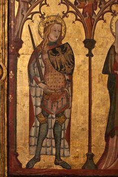 Painting in St Maria zur Wiese, Soest, Niemcy (1340-1350)