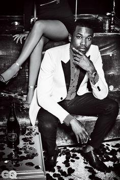 3a12783f96c0e5 Photos  See Nicki Minaj and Meek Mill s Sexy GQ Shoot