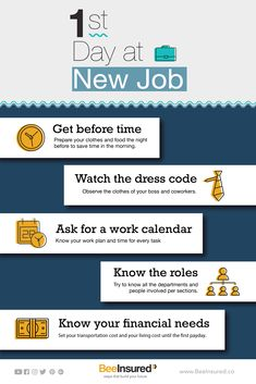 Make your efforts to get a good impression on your first day at new job! Work Calendar, Your Boss, The Night Before, How To Get, How To Plan, You Working, New Job, Knowing You, Effort
