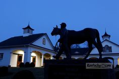 Click to see a photo gallery of Spendthrift Farm in Lexington.