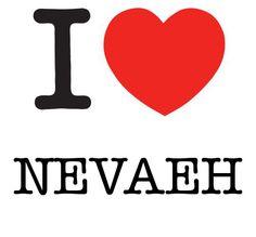I Heart Nevaeh #love #heart