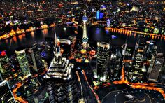 oriental pearl and pudong shanghai night view 172728