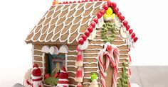 A simple, sturdy, edible dough for gingerbread house construction.