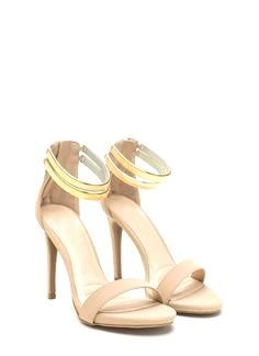 """These chain ankle strap heels will make you say """"Oh, my..."""