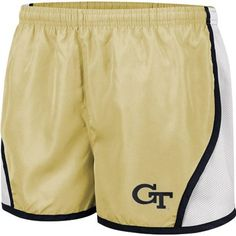 $25 Are you runner? Why not run in these Georgia Tech Yellow Jackets Women's Flip Shorts