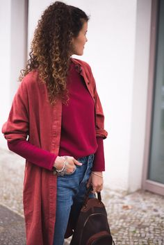 autumnal ethical fashion outfit - fair fashion