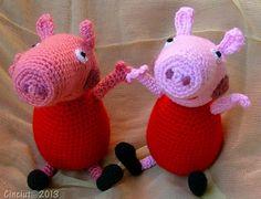 Peppa Pig Free Crochet Pattern