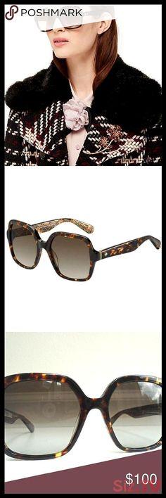 Kate Spade Tortoise Katelee s Oversized Sunglasses Kate Spade Katelee s Tortoise... Sunglasses Price, Kate Spade Sunglasses, Sunglasses Accessories, Women Accessories, Plus Fashion, Womens Fashion, Fashion Tips, Fashion Trends, Oversized Sunglasses