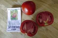 Heirloom tomato varieties we grow in a northern garden - Red Brandywine