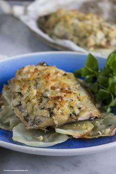 La cucina spontanea: Sgombro gratinato al forno con patate