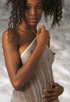 Black female nude models