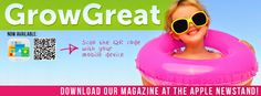 Facebook Cover for Grow Great by Anywhere Creative  www.anywherecreative.com