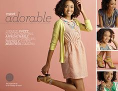What makes you feel Adorable?  Mialisia 2014 VersaStyle Guide
