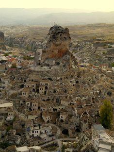 Ortahisar Castle, Cappadocia, Turkey [OC][770x1024]