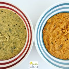 La dieta ALEA- Cremas de invierno o como primer plato de comida o plato único de cena