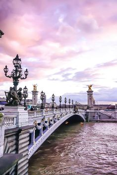 Pont Alexandre iii: where to see sunset in paris, France (the very best spots)