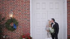 Beautiful wintertime wedding event.  The ceremony was filmed at St. Thomas Episcopal Church in Owings Mills, MD and the reception was held at The Elkridge Club in Baltimore.  Santa Claus was a reception guest!