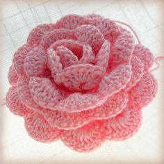 Crochet Rose - Free Pattern