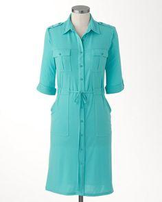 Off duty drawstring dress $119.95
