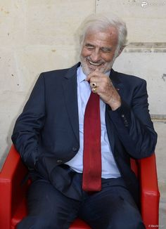 Jean-Paul Belmondo - Soirée du cinquième anniversaire du musée Paul Belmondo à Boulogne-Billancourt le 13 avril 2015.