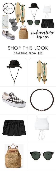 """""""Cruzin"""" by lexiperez599 ❤ liked on Polyvore featuring Rothco, Sector 9, Vans, DaVonna, Patagonia, Ack, Monday, Michael Kors, Spitfire and Richmond & Finch"""