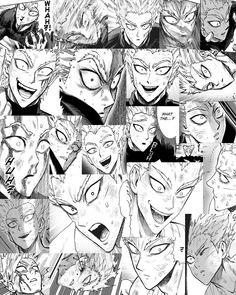 Opm Manga, Manga Anime, Anime Art, Manga Love, I Love Anime, Anime Guys, One Punch Man 2, One Punch Man Manga, Metal Bat