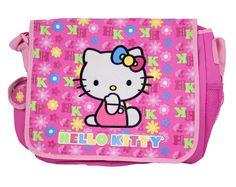 Hello Kitty Patterned Messenger Bag