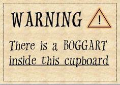 boggart warning