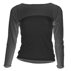 Starlite Eclipse Dance Top. Masquerade is a unique range designed for layering, offering a different dimension in sheer super stretch powernet*. Powernet long sleeve top combined with a nylon lycra bottom half. Long sleeve eclipse dance top from Starlite. www.dancinginthestreet.com