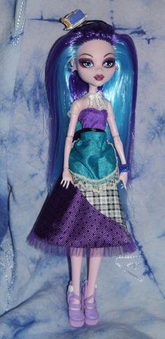 Marion Berry Pie Monster High custom ooak by mythicalmommy1717