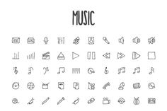 2440 Hand Drawn Doodle Icons Bundle - Icons - 5