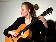 Heike Matthiesen playing Recuerdos de la Alhambra
