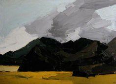 Kyffin Williams (Pays de Galles, 1918–2006) – Cloud and Hills above the Traeth Bangor University, Gwynedd, UK
