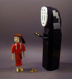 Spirited Away - No-Face and Sen by Ochre Jelly, via Flickr
