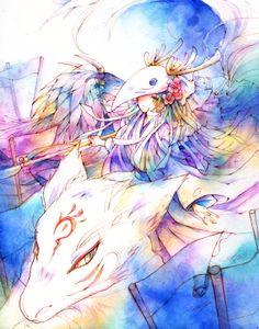 Natsume Yuujinchou art