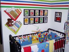 Bright Vintage Snoopy & Peanuts Gang Nursery