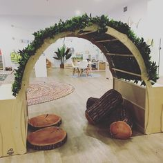 Archway to PLAY in our 3 year old classroom Happy weekend everyone! #wisepreschool #preschoolperth #3yearoldpreschool #kindyperth…