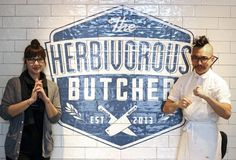 Behind the Scenes at the World's First Vegan Butcher Shop