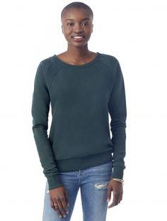 High Street Modal Fleece Pullover Sweatshirt
