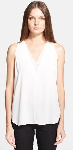 Basic white top for any wardrobe #keatonrow #personalstyle