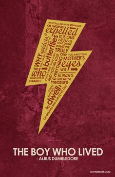 Harry Potter Inspired Quote Poster by outnerdme