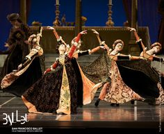 San Francisco Ballet in Tomasson's 'Romeo & Juliet' (© Erik Tomasson), which features costumes authentic to the Italian Renaissance