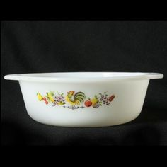 Fire King Chanticleer Rooster Casserole Dish 15 Quart by charmings http://etsy.me/uk1I9C via @Etsy