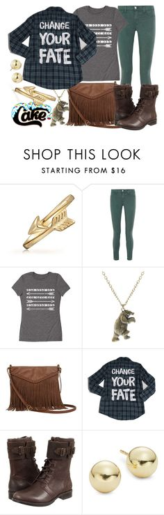 """""""Cakeworthy's """"Fate"""" Flannel"""" by leslieakay ❤ liked on Polyvore featuring Bling Jewelry, J Brand, LC Trendz, ASOS, T-shirt & Jeans, UGG Australia and Lord & Taylor"""