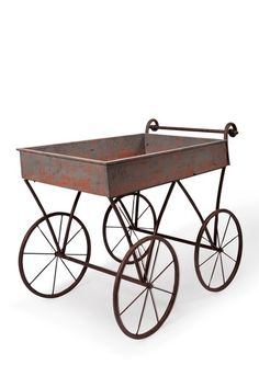 Vintage Flower Cart on HauteLook